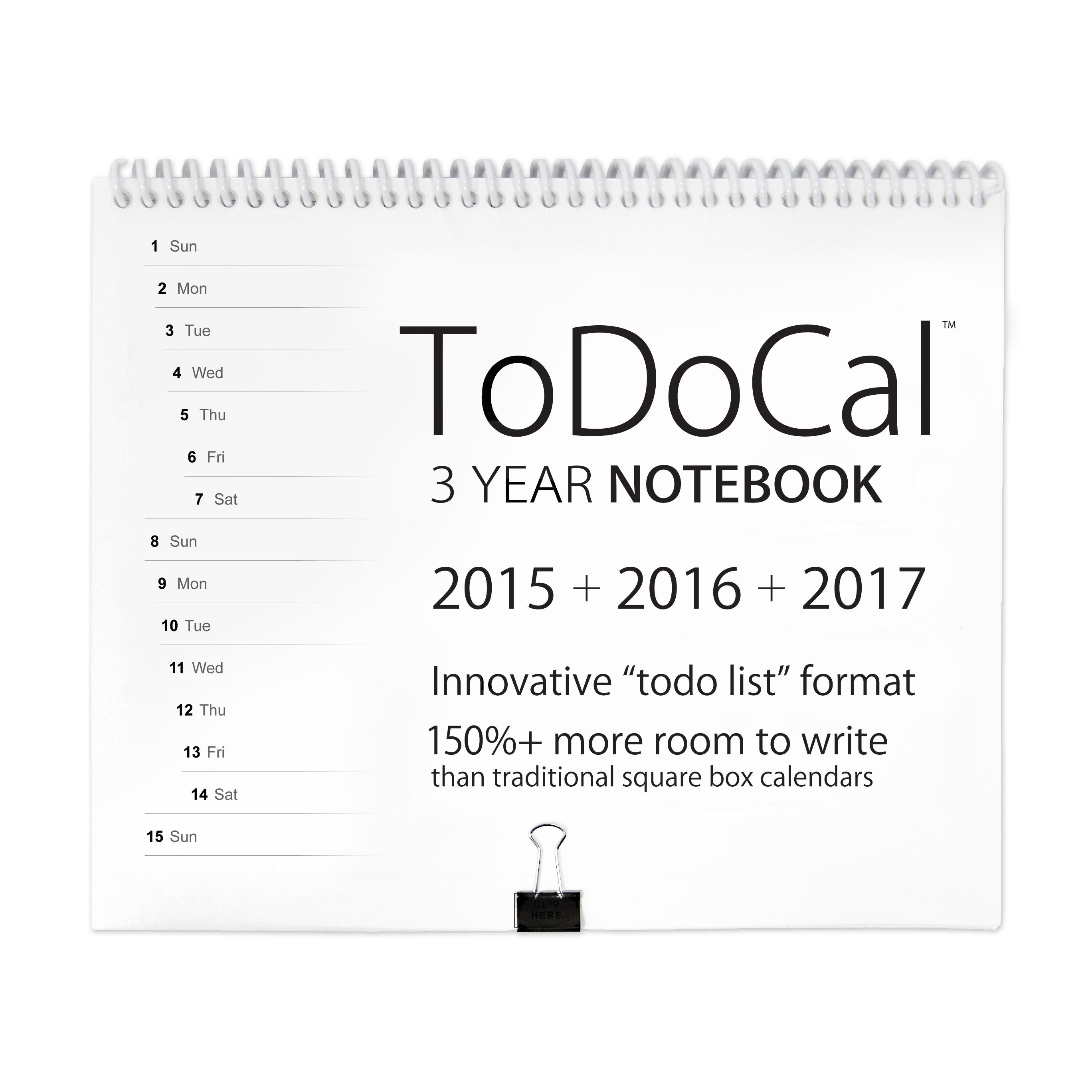 3 year calendar
